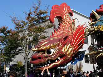 Cultural Property (Japan) - Kyūshū's Karatsu Kunchi festival was designated an Important Intangible Folk Cultural Property in 1980.