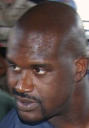 National Basketball Association star Shaquille...