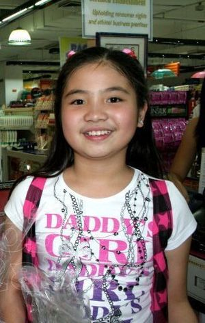 Sharlene San Pedro - San Pedro during her younger years.