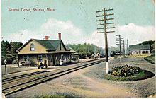 Sharon Station Wikipedia