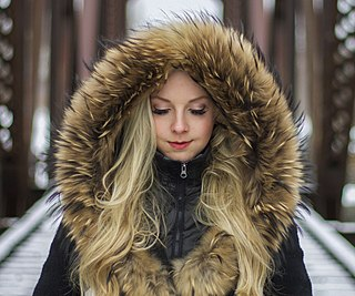 Fur clothing clothing made of furry animal hides