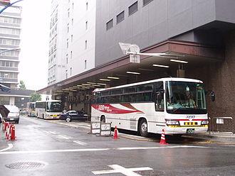 Shinjuku Highway Bus Terminal - Shinjuku Highway Bus Terminal, June 2006