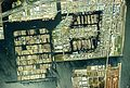 Shinkiba district seawater surface lumber yard Aerial photograph.1989.jpg