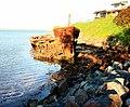 Shipwreck of gayundah,woody point,22-08-2013 (2) (9564387251).jpg