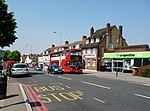 Shirley: Bus on Wickham Road,
