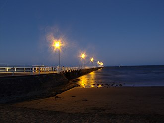 Shorncliffe, Queensland - Shorncliffe at night