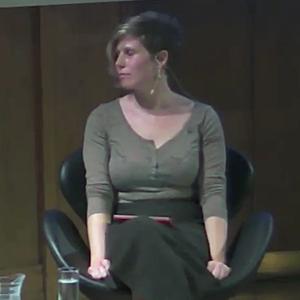 Caroline Criado Perez - at Conway Hall in 2014