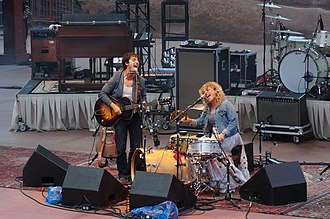 Shovels & Rope - Image: Shovels and Rope at Red Rocks Amphitheater July 13 2014