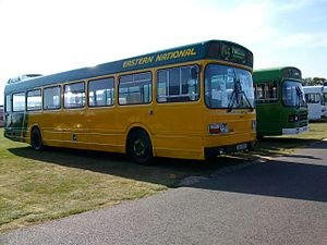 Eastern National Omnibus Company - Preserved Leyland National in September 2009