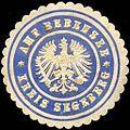 Siegelmarke Amt Bebensee - Kreis Segeberg W0204724.jpg
