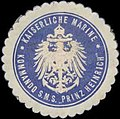 Siegelmarke K. Marine Kommando S.M.S. Prinz Heinrich W0357635.jpg