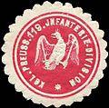 Siegelmarke K. Pr. 119. Infanterie-Division W0285464.jpg