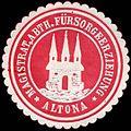 Siegelmarke Magistrat, Abtheilung Fürsorgeerziehung - Altona W0226647.jpg
