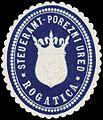 Siegelmarke Steueramt-Porezni Ured-Rogatica W0321441.jpg