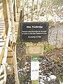 Sign, Elba Footbridge - geograph.org.uk - 1726039.jpg