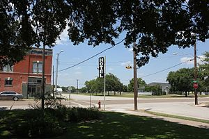 Blessing, Texas - Downtown Blessing