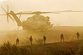 Sikorsky CH-53E (USMC) - Six Stallions on a Hill (16590296884).jpg