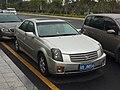 Silver Cadillac CTS 2001.jpg