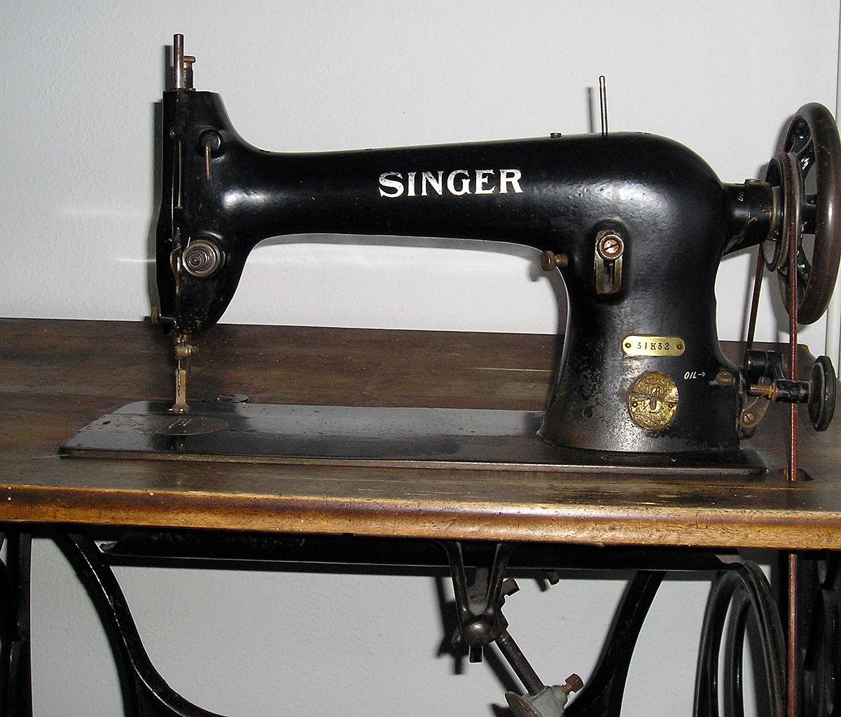 file singer sewing machine simple english. Black Bedroom Furniture Sets. Home Design Ideas