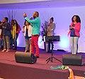 Singers and choir pentecostal church.JPG