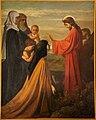 Sint-Pieters-Kapelle Herne Jezus ontmoet de dochters van jerusalem 1375.jpg