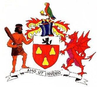 John Perrot - Image: Sir John Perrot Achievement
