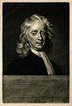 Sir Isaac Newton. Mezzotint by J. MacArdell after E. Seeman, Wellcome V0004273.jpg