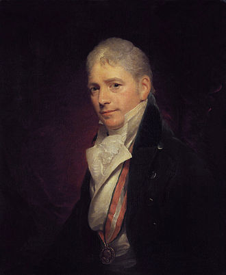 Francis Bourgeois - Sir Peter Francis Bourgeois, by Sir William Beechey