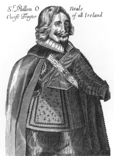 Felim ONeill of Kinard Irish nobleman, a leader of the Irish Rebellion of 1641
