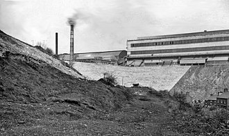 Brymbo Steelworks - Image: Site (probable) of Brymbo (GC) Station by Brymbo Steelworks geograph.org.uk 1928452