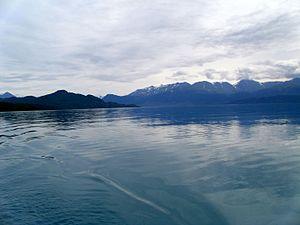 Skilak Lake - Image: Skilakblue