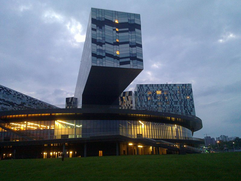 Innovation Hub Skolkovo - Photo credit: NetBUG