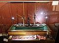Slottsfjellsmuseet Museum Tønsberg Norway. Svend Foyn Spes & Fides 1863 Whaler Harpoon cannon Ship model Hvalbåt Harpunkanon Skipsmodell Medals and awards Medaljer og utmerkelser 2020-01-21 DSC02164.jpg