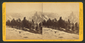 So. Dome, Mt. Watkins, Clouds' Rest, &c from Sentinel Dome, by John P. Soule.png