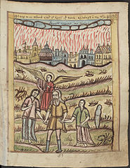 Sodom and Gomorrah Burning
