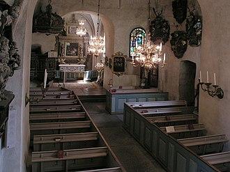 Solna Church - Nave