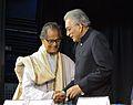 Somendranath Bandyopadhyay and Shyamal Kumar Sen - Kolkata 2014-01-23 7186.JPG
