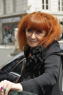 Sonia Rykiel French fashion designer