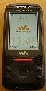 Image illustrative de l'article Sony Ericsson W850i
