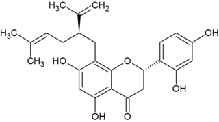 Sophoraflavanone G chemical compound