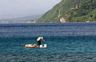 Saint Luke Parish, Dominica - Soufrière Bay off Pointe Michel