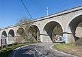 Sougne-Remouchamps, spoorbrug over de Rue de Trois Ponts foto7 2017-03-27 12.54.jpg