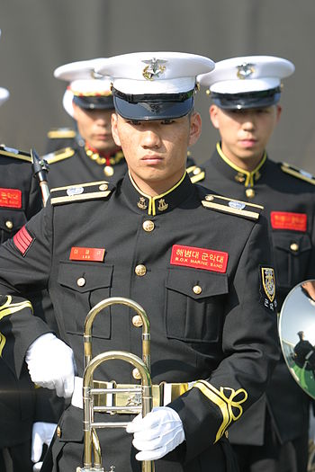 South-Korean military musician