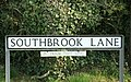 Southbrook Lane THAT way - geograph.org.uk - 1235811.jpg