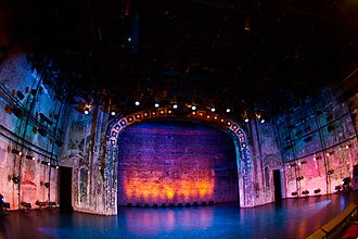The Southern Theater - Interior of the Southern in 2010 during the Minnesota Fringe Festival
