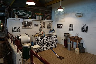Southwest Dairy Museum - The interior of the Southwest Dairy Museum