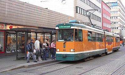 Spårvagn i Norrköping