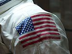 Spacesuit of Michael Collins, Moscow, Russia, 2016 02.jpg