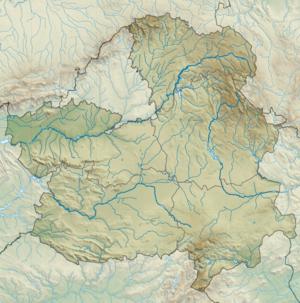 Alcantarilla-Staudamm (Kastilien-La Mancha)