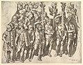 Speculum Romanae Magnificentiae- A Roman Legion (from Trajan's Column) MET DP820286.jpg